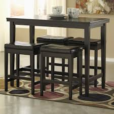 Bar Stool And Table Sets Ashley Signature Design Kimonte 5 Piece Counter Table Set With