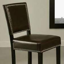 Brown Leather Bar Stool Best 50 Brown Leather Bar Stools Foter
