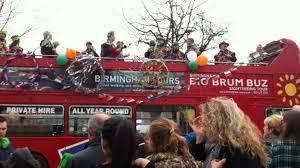 birmingham holds st patrick u0027s day parade bbc news