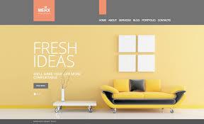 website template 57357 merx interior design custom website