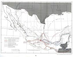 Map Of Northern Mexico by Colonial Mexico And Independence Colonisation Society