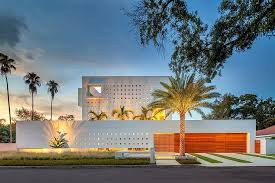 florida modern homes modern impeccable dream florida mansion by office for architecture