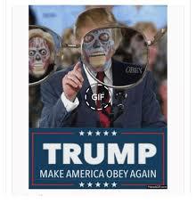 Obey Meme - obey i gif trump make america obey again makeagif com gif meme