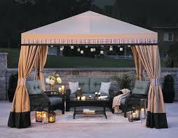 Outdoor Patio Canopy Gazebo by Exterior Outdoor Fabric Canopies Backyard Canopy Patio Canopy