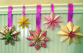 Creative Window Decorations For Christmas by How To Fold A Flower Decoration Floral Party Decor Origami Youtube