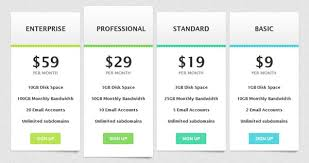 price plan design design web hosting templates with css3 tutorial