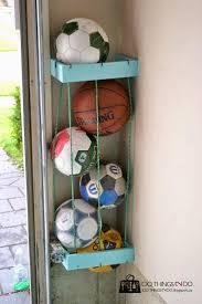 best 25 ball storage ideas on pinterest garage organization