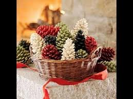 pine cone decoration ideas christmas pine cone decorations arts and crafts creative ideas