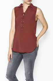 criss cross blouse mono b criss cross blouse from jersey by s web