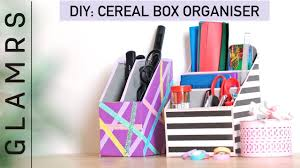 diy cereal box organizer quick u0026 easy tutorial best out of