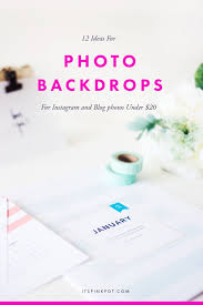 Cheap Photo Backdrops 12 Photo Backdrop Ideas For Instagram Under 20 Pinkpot Studio