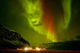 when do you see the northern lights in iceland spooky face appears in northern lights bt