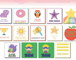 kid cards 20 lunch box notes cards with motivational messages for kids