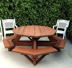 Great Easy Picnic Table Octagon Picnic Table Plans Easy To Do Ebay 25 melhores ideias de mesa octogonal de piquenique no pinterest