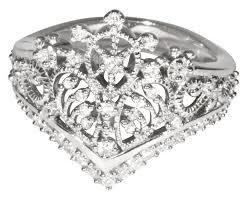 tiara collection princess tiara collection ring 3 silver plated crowns