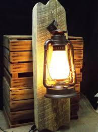 this is our large rustic wall sconce electric lantern lighting by