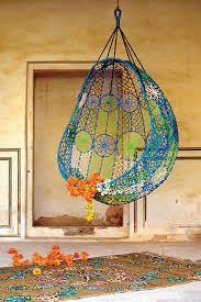 Hanging Chair Outdoor Furniture Anthropologie Brings Modern Indoor And Outdoor Furniture