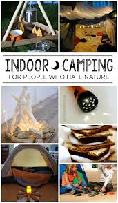 indoor camping imaginative play and free printable indoor