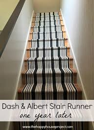 dash u0026 albert stair runner one year later u2013 the happy house project
