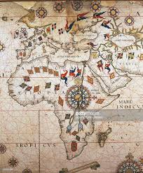 Europe And Africa Map by Detail Of Portuguese Planisphere 1550 Pictures Getty Images