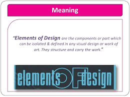 visual layout meaning elements and principles of design