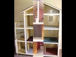 Doll House Plans Barbie Mansion by Easy Diy Doll House Projects Ideas Youtube