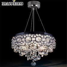 round chandelier light modern round vanity lustre led k9 crystal chandelier light fixture