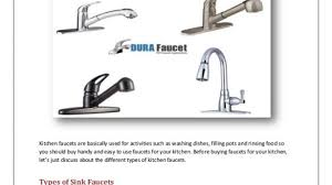 Different Types Of Kitchen Faucets Types Of Kitchen Faucets Attractive Different Faucet In 10