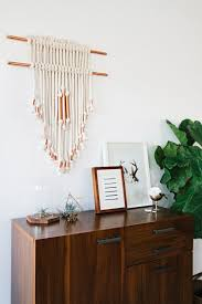 Macrame Home Decor by Copper Pipe Wall Hanging Diy U2013 A Beautiful Mess
