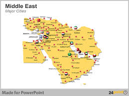 middle east map with country name 24point0 s middle east maps deck for ppt an ideal tool for
