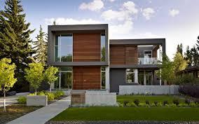 Modern Home Design Edmonton Modern Small Homes Designs Exterior With Contemporary Home