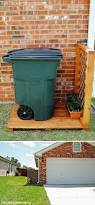Backyard Garbage Cans by 10 Clever Ways To Camouflage Your Trash Cans Yard Ideas