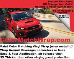porsche red paint code 2017 subaru wrx wrap any subaru color in a vinyl wrap u2013 colorx