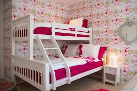 Castle Bunk Beds For Girls by Castle Bunk Bed With Pink And White Princess Castle Bunk Bed With