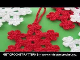 crochet tree ornaments free crochet patterns