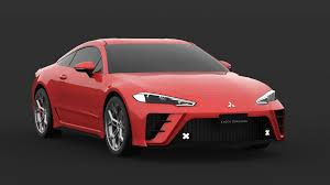 mitsubishi eclipse improbable fifth generation mitsubishi eclipse sports coupe looks