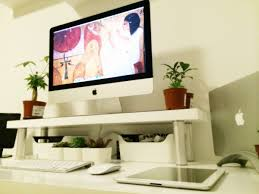 Compact Computer Desk For Imac Outstanding Best Desk For Imac Pictures Inspiration Surripui Net