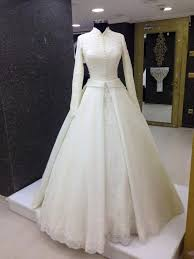 wedding dress muslimah white modest gown amazing clothing chic