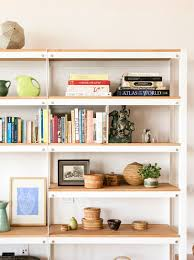 Livingroom Shelves by Great Shelf Ideas Sunset