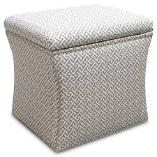 fabric ottoman with storage u2013 michaelpinto me