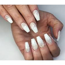 25 popular white glitter nails ideas on pinterest silver french