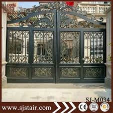 exterior ornamental grill designs cast aluminum sliding house