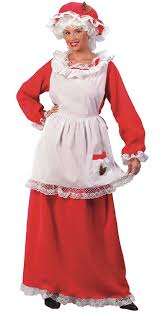 mrs claus costumes world costumes women s mrs claus promo suit
