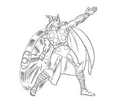 Thor Coloring Pages For Kids Printable Free Coloring Pages For Kids Thor Coloring Page