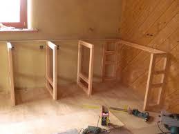 fabriquer plan de travail cuisine fabriquer un meuble de cuisine en bois idée de modèle de cuisine