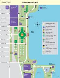 grant park chicago map grant park maplets