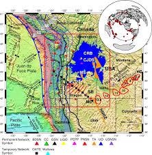 physical map of oregon juan de fuca plate the fate of the juan de fuca plate implications for a yellowstone