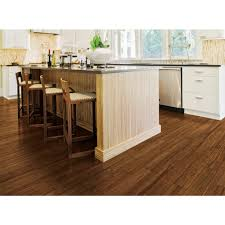 Floors R Us by Revival Engineered Locking Strand Woven Bamboo Burnt Toast