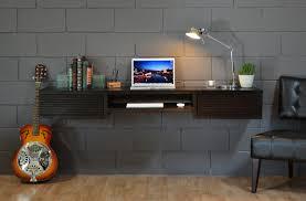 Dark Wood Computer Desk Choose Slim Computer Desk If You Deserve To Have Spacious Feeling