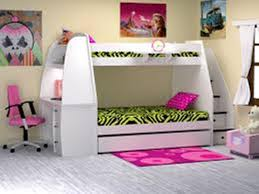 bunk beds for kids with stairs and desk home designing inspiration